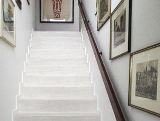 Designbelag-Treppe