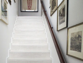 Design flooring stairs